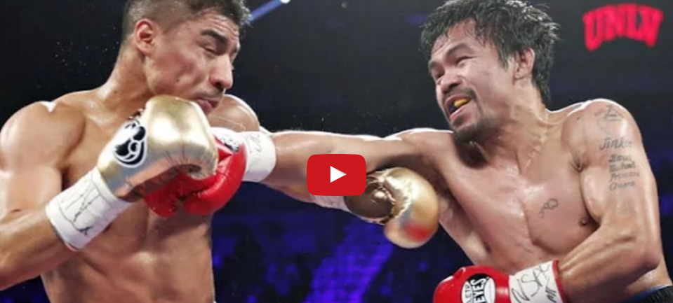 Manny Pacquiao vs Jessie Vargas Replay